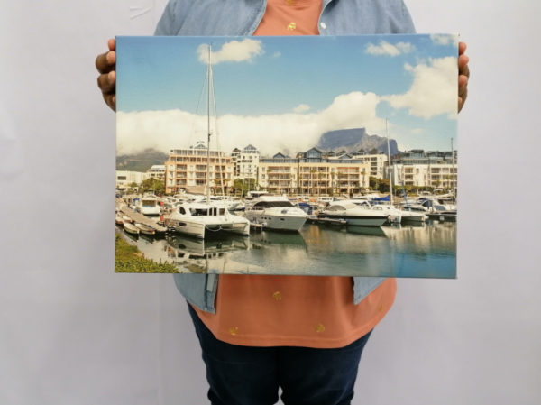 Waterfront A3 Canvas
